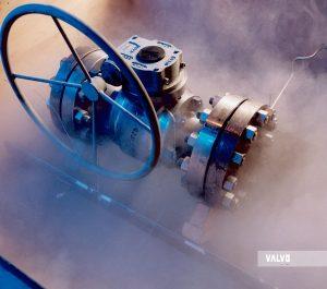 Cryogenic test of ball valve