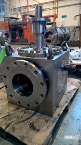 """Top entry ball valve – 10""""x8"""" #150, LF2/F6+TCC, forged"""