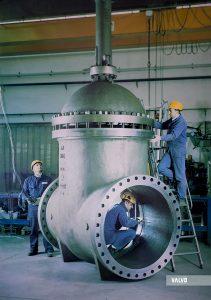 "Gate valve, 48"" #300, WCB"